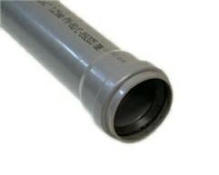 Труба  кан.PVC 50 х 1м