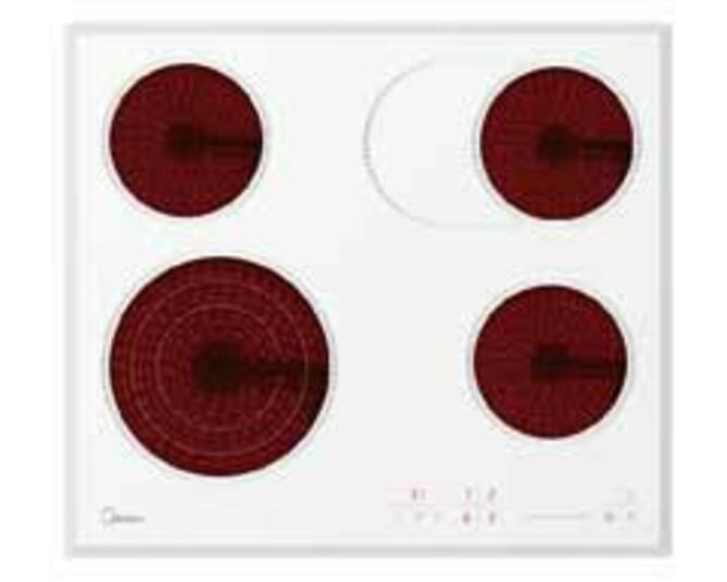 Электрическая варочная панель стеклокерамика Midea MC-H64767FW