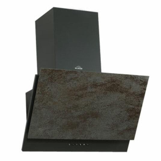 ВЫТЯЖКА ЭЛИКОР Рубин Ceramics S4 антрацит/бронзовый травертин 700 м3/ч