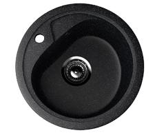 Мойка EcoStone ES-10-308 чёрный d=440мм