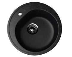 Мойка EcoStone ES-11-308 чёрный d=500мм
