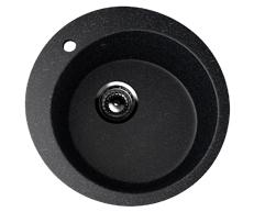Мойка EcoStone ES-13-308 чёрный d=495мм