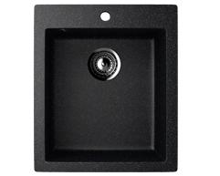 Мойка EcoStone ES-14-308 чёрный 495x420мм